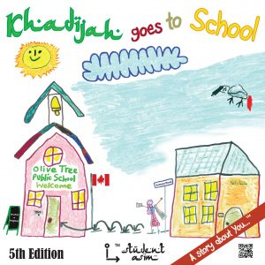 Khadijah goes to School book cover