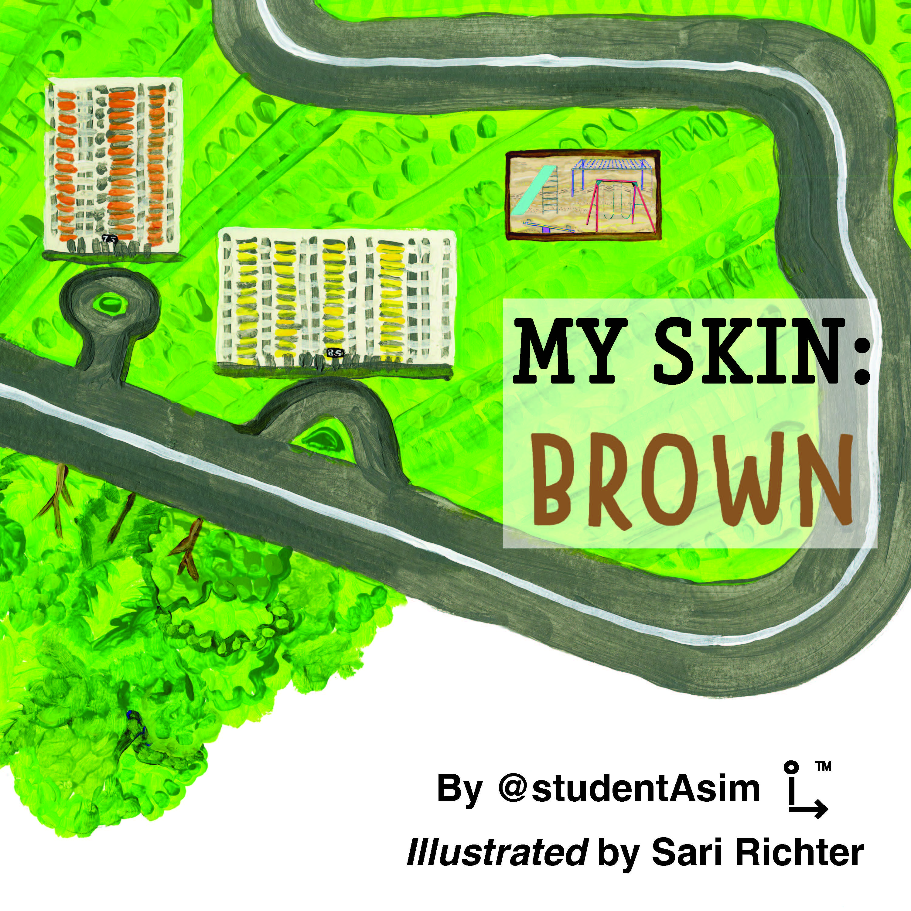 My Skin: Brown art work by @studentAsim