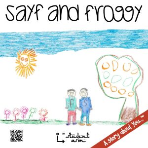 Sayf and Froggy by @studentAsim