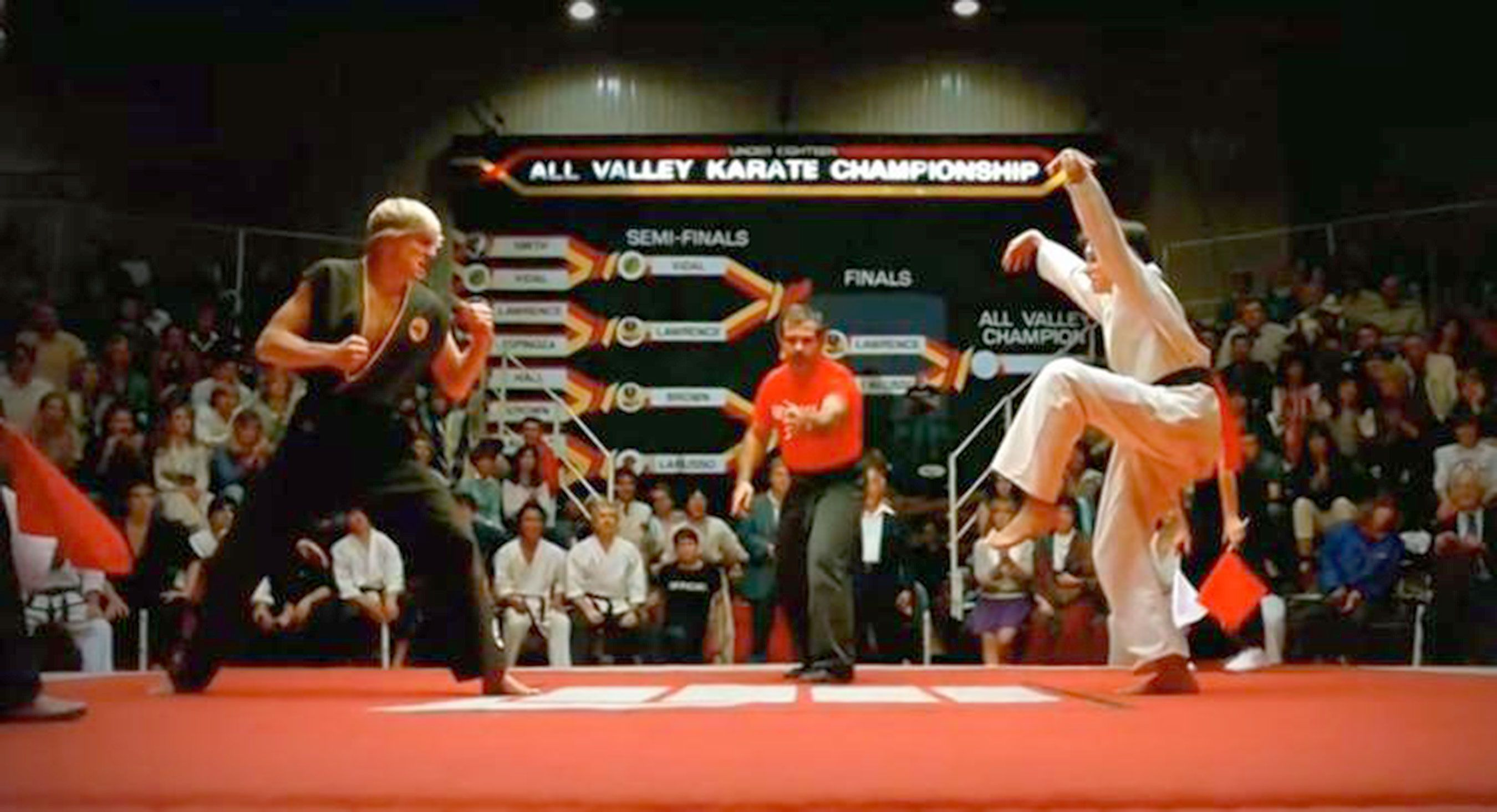 Living holistically. The Karate Kid Effect.